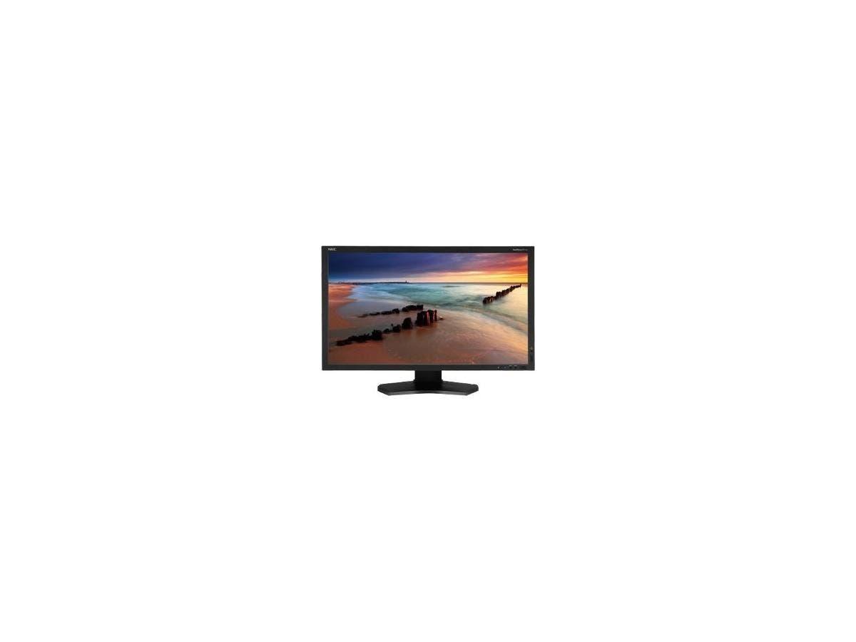"NEC Display MultiSync P232W 23"" LED LCD Monitor - 16:9 - 8 ms - Adjustable Display Angle - 1920 x 1080 - 1.07 Billion Colors - 250 Nit - 1,000:1 - Full HD - DVI - HDMI - VGA - DisplayPort - USB"