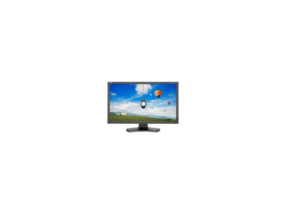 "NEC Display MultiSync PA272W-BK-SV 27"" GB-R LED LCD Monitor - 16:9 - 6 ms - Adjustable Display Angle - 2560 x 1440 - 1.07 Billion Colors - 340 Nit - 1,000:1 - WQHD - DVI - HDMI - DisplayPort"