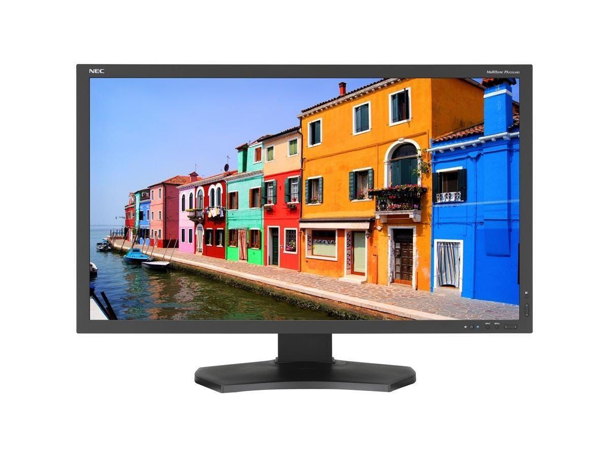 "NEC Display MultiSync PA322UHD-BK-2 32"" LED LCD Monitor - 16:9 - 10 ms - 3840 x 2160 - 1.07 Billion Colors - 350 Nit - 1,000:1 - 4K UHD - DVI - HDMI - DisplayPort - USB - 95 W - Black - RoHS-Large-Image-1"