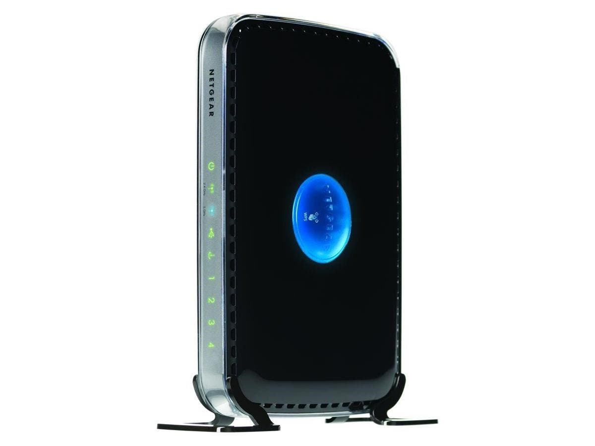 Netgear N600 RangeMax Wireless Dual Band Router - 4 x 10/100Base-TX Network LAN, 1 x 10/100Base-TX Network WAN - IEEE 802.11n (draft) - 600Mbps-Large-Image-1