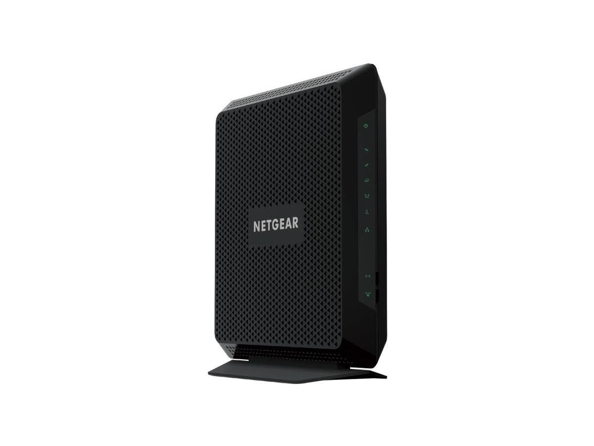 Netgear Nighthawk C7000 IEEE 802.11ac Cable Modem/Wireless Router - 2.40 GHz ISM Band - 5 GHz UNII Band - 1900 Mbit/s Wireless Speed - 4 x Network Port - USB - Gigabit Ethernet-Large-Image-1