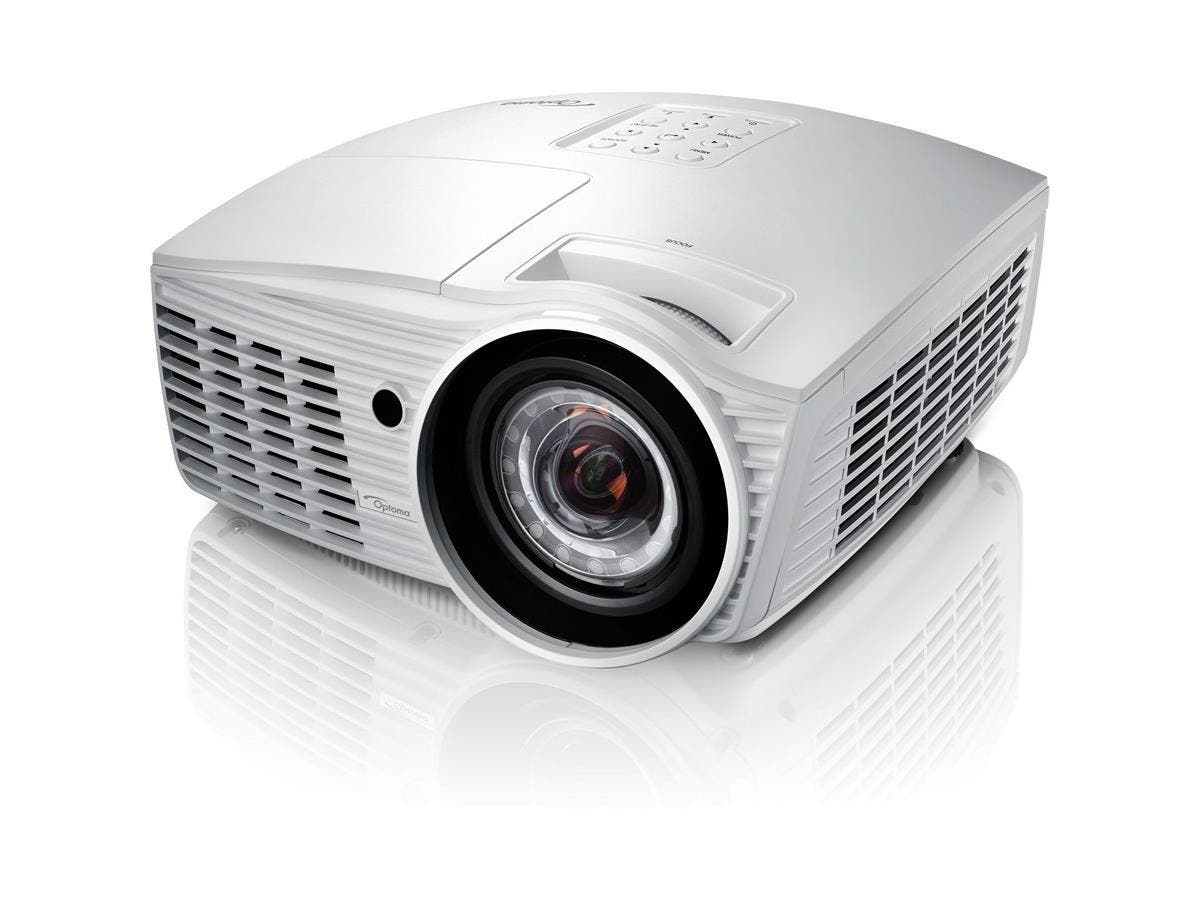 Optoma EH415ST 3D Ready DLP Projector - 1080p - HDTV - 16:9 - Front, Rear, Ceiling - 280 W - 3000 Hour Normal Mode - 7000 Hour Economy Mode - 1920 x 1080 - Full HD - 15,000:1 - 3500 lm - HDMI -Large-Image-1