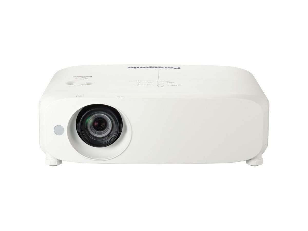 Panasonic PT-VZ570 LCD Projector - 1125p - HDTV - 16:10 - F/1.6 - 2.12 - UHM - 270 W - NTSC, PAL, SECAM - 5000 Hour Normal Mode - 7000 Hour Economy Mode - 1920 x 1200 - WUXGA - 10,000:1 - 4800 lm