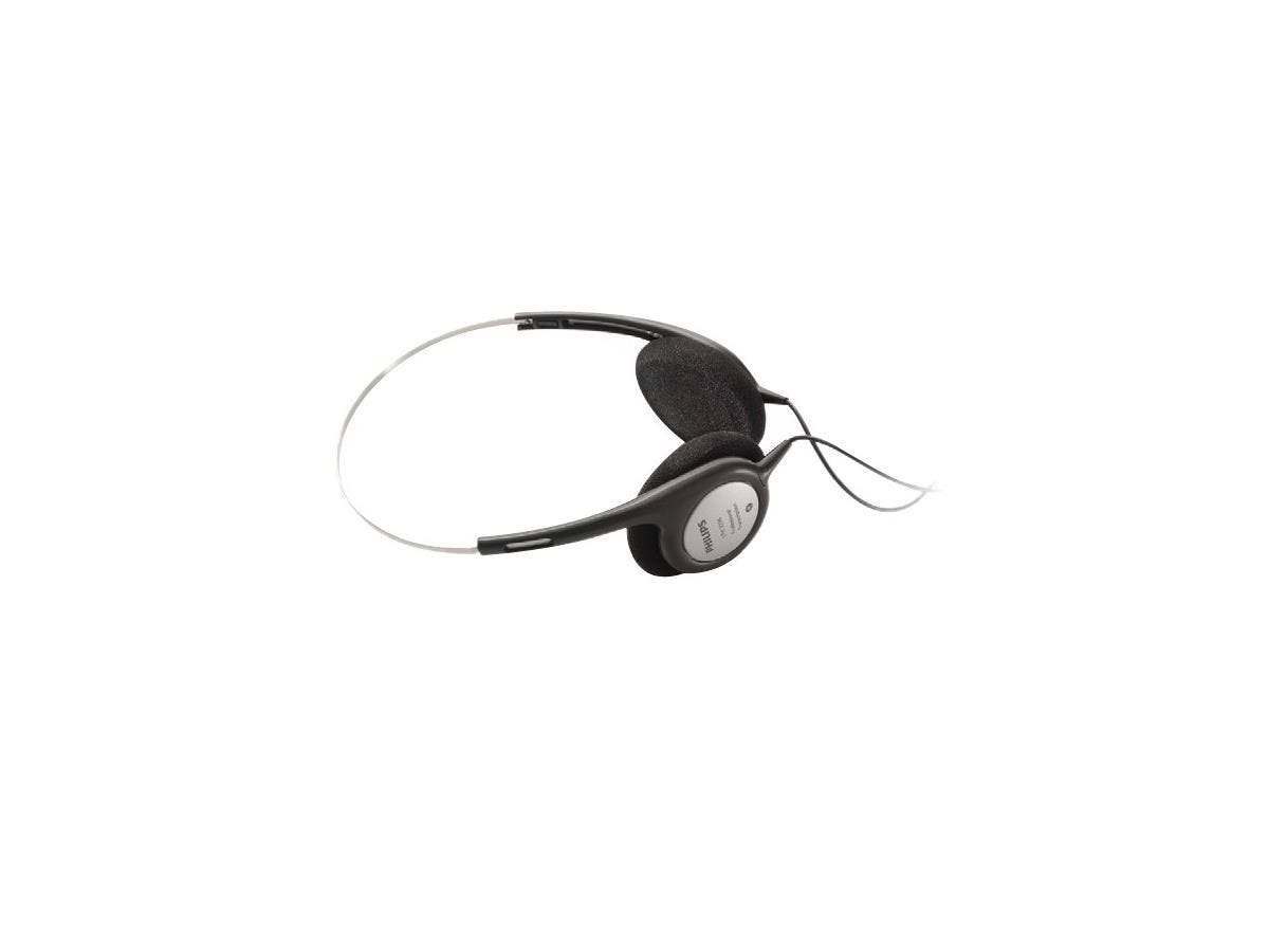 Philips LFH2236 Binaural Headphone - Wired Connectivity - Stereo - Over-the-head-Large-Image-1