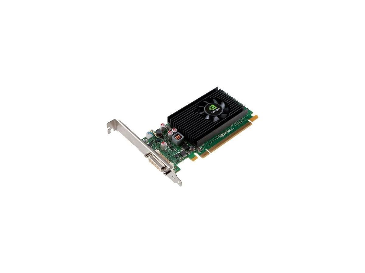 PNY Quadro NVS 315 Graphic Card - 1 GB DDR3 SDRAM - PCI Express 2.0 x16 - Low-profile - Single Slot Space Required - 64 bit Bus Width - 2560 x 1600 - Fan Cooler - DirectX 11.0, OpenGL 4.3, OpenCL, Dir-Large-Image-1