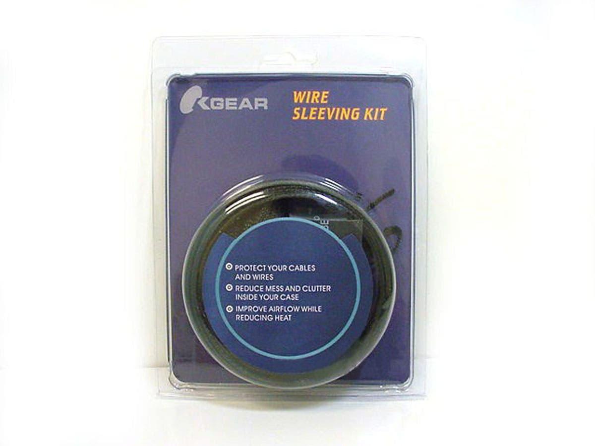 Monoprice Cable Sleeve kit - Black-Large-Image-1