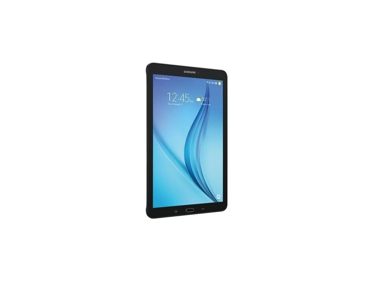 """Samsung Galaxy Tab E SM-T377V 16 GB Tablet - 8"""" - Wireless LAN - Verizon - 4G - Qualcomm Snapdragon 410 MSM8916 Quad-core (4 Core) 1.30 GHz - Metallic Black - 1.50 GB RAM"""