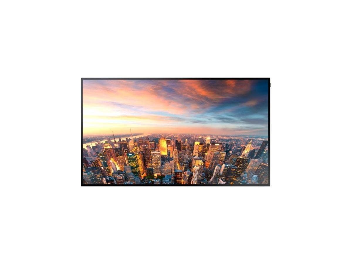 "Samsung DM82D - DM-D Series 82"" Edge-Lit LED Display - 82"" LCD - ARM Cortex A9 1 GHz - 1.50 GB DDR3 SDRAM - 1920 x 1080 - Edge LED - 500 Nit - 1080p - HDMI - USB - DVI - Serial - Wireless LAN"