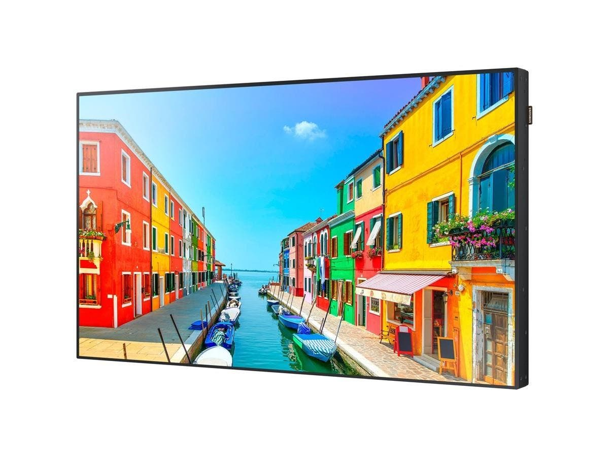 """Samsung OM55D-W Digital Signage Display - 55"""" LCD - ARM Cortex A9 1 GHz - 1.50 GB DDR3 SDRAM - 1920 x 1080 - LED - 2500 Nit - 1080p - HDMI - USB - DVI - Serial - Wireless LAN - Ethernet-Large-Image-1"""