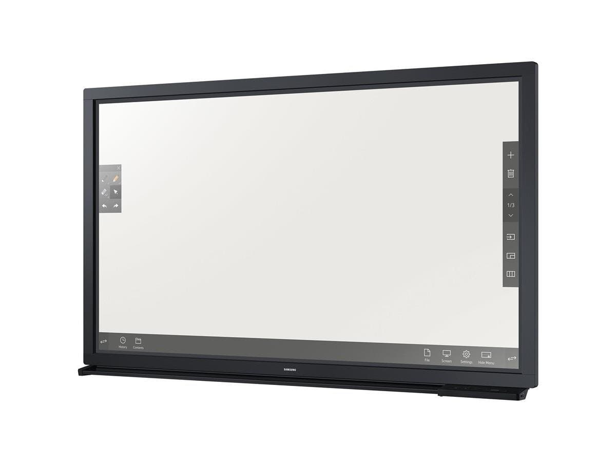 "Samsung DM75E-BR - DM-E Series 75"" Direct-Lit LED E-Board Display for Business - 75"" LCD - ARM Cortex A9 1 GHz - 1.50 GB DDR3 SDRAM - 1920 x 1080 - Direct LED - 380 Nit - 1080p - HDMI - USB"