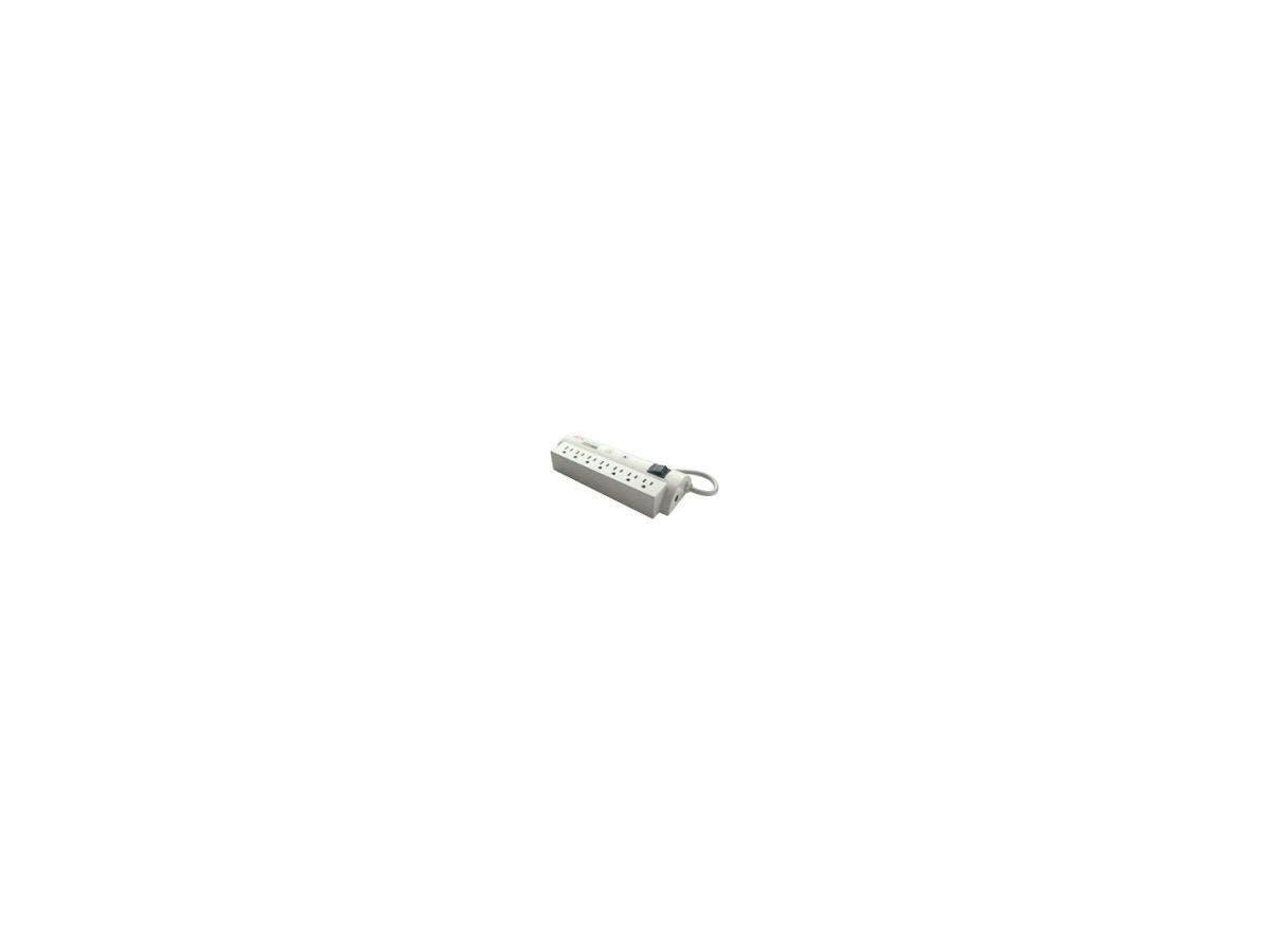 APC SurgeArrest PER7-LM 7-Outlet Surge Suppressor - 7 x NEMA 5-15R - 240 J - 120 V AC Input - Phone/DSL, Coaxial Cable Line, Ethernet