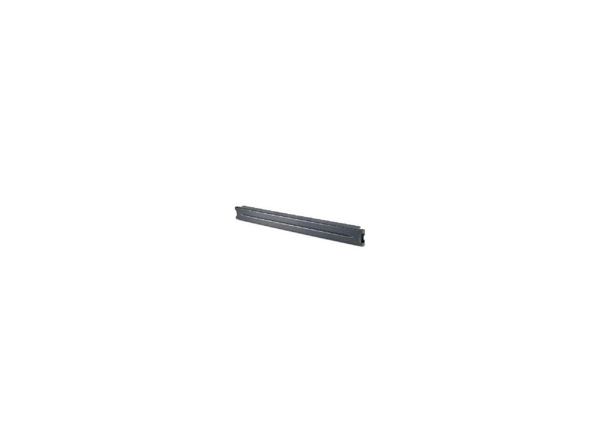 "APC 1U 19"" Black Modular Toolless Blanking Panel - Black - 10 Pack - 1.7"" Height - 19"" Width - 0.1"" Depth"