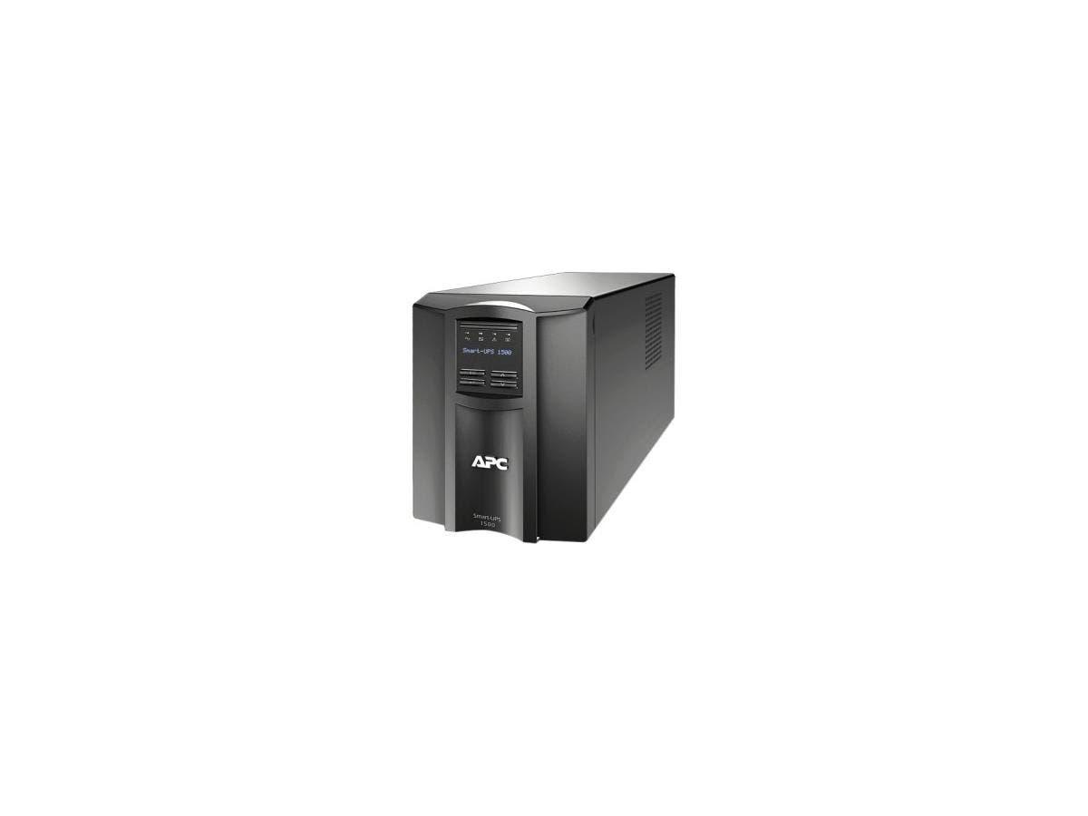 APC Smart-UPS 1500VA UPS - 1500 VA/980 W - 120 V AC - 7 Minute - Tower - 7 Minute - 8 x NEMA 5-15R-Large-Image-1