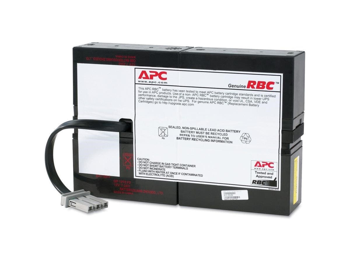 APC UPS Replacement Battery Cartridge - Spill Proof, Maintenance Free Sealed Lead Acid-Large-Image-1