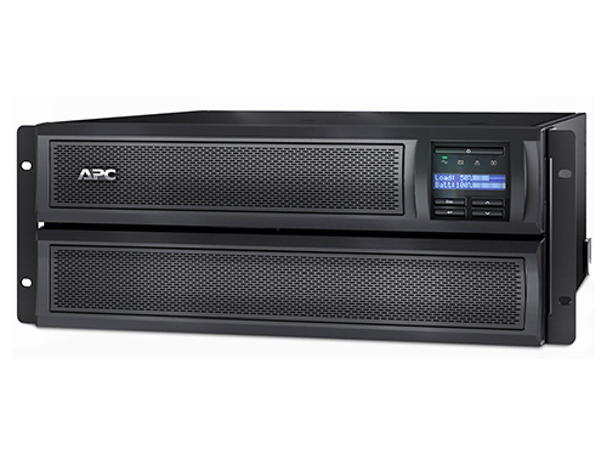 APC Smart-UPS X 3000VA Short Depth Tower/Rack Convertible LCD 208V-Large-Image-1