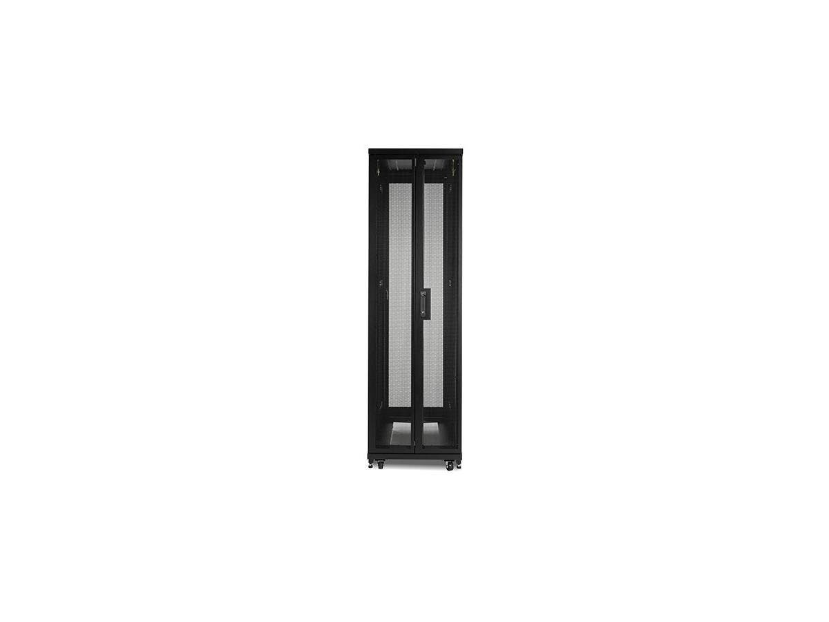 "APC NetShelter SV 42U 600mm Wide x 1060mm Deep Enclosure with Sides Black - 19"" 42U Wide - Black - 1014.13 lb x Dynamic/Rolling Weight Capacity - 2209.03 lb x Static/Stationary Weight Capacity"
