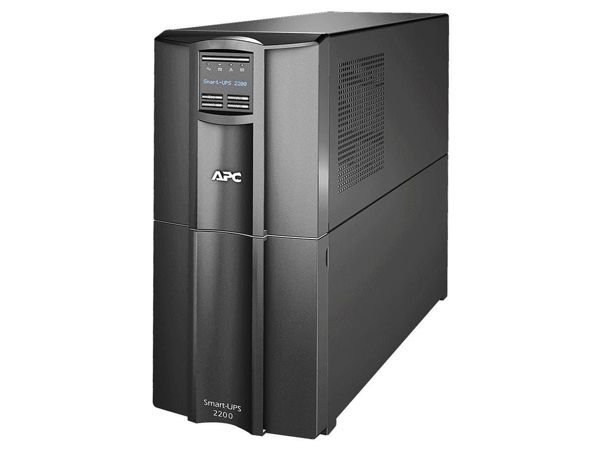 APC Smart-UPS 2200VA LCD 120V US - 2200 VA/1980 W - 120 V AC - 8 Minute - Tower - 8 Minute - 8 x NEMA 5-15R, 2 x NEMA 5-20R-Large-Image-1