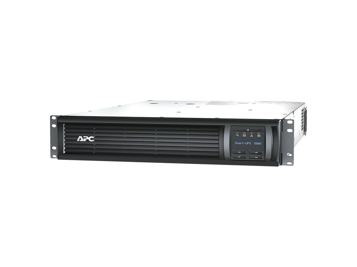APC Smart-UPS 3000VA LCD RM 2U 120V US - 2880 VA/2700 W - 120 V AC - 3 Minute - 2U Rack-mountable - 3 Minute - 6 x NEMA 5-15R, 2 x NEMA 5-20R
