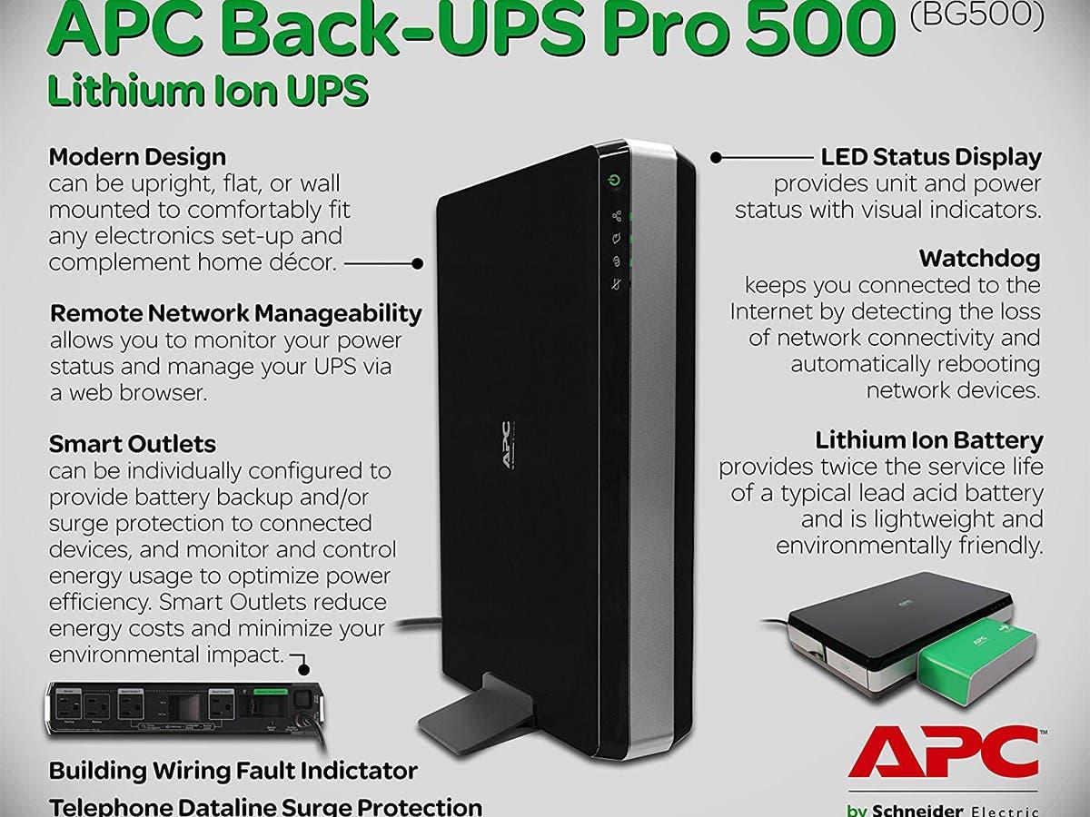 APC BG500 APC Back-UPS Pro 500 -Large-Image-1