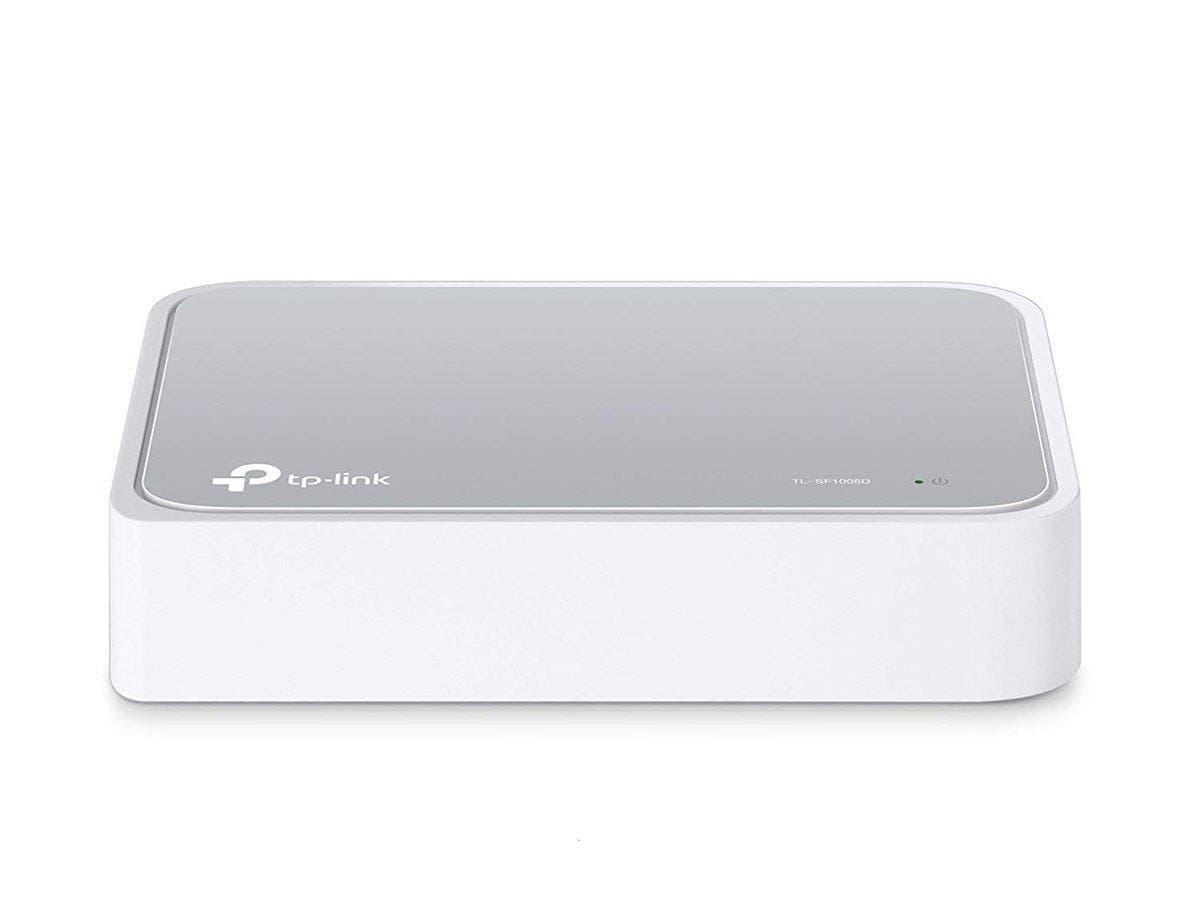 TP-LINK TL-SF1005D 5-port 10/100Mbps Desktop Switch - 5 Ports - 5 x RJ-45 - 10/100Base-TX-Large-Image-1