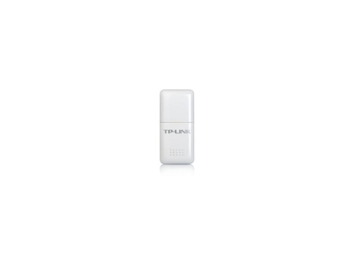 TP-LINK TL-WN723N Wireless N150 Mini USB Adapter,150Mbps,w/WPS Button, IEEE 802.1b/g/n, WEP, WPA/WPA2 - USB - 150 Mbps - 2.48 GHz ISM - External