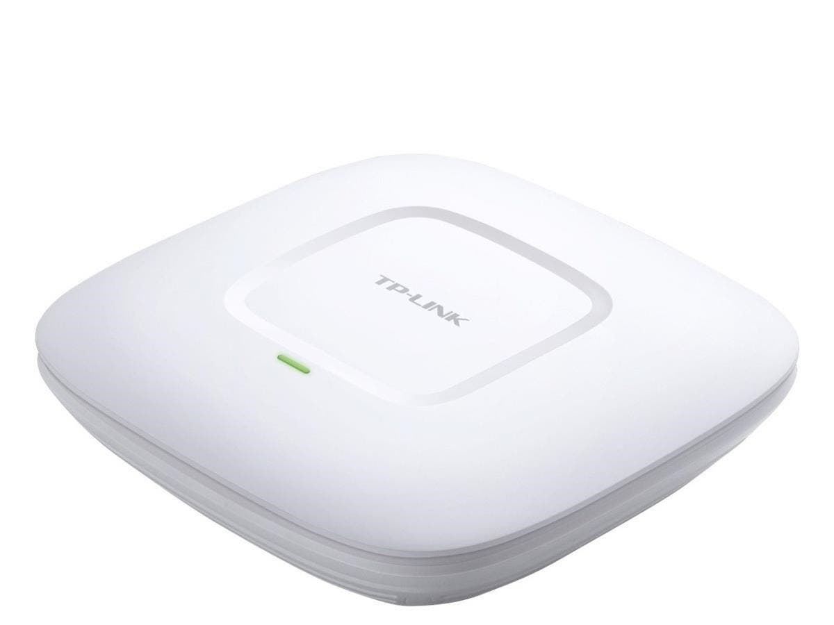 TP-LINK EAP220 IEEE 802.11n 600 Mbit/s Wireless Access Point - 2.40 GHz, 5 GHz - 4 x Internal Antenna(s) - MIMO Technology - 1 x Network (RJ-45) - PoE Ports - PoE - Ceiling Mountable