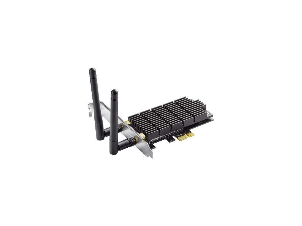 TP-LINK Archer T6E IEEE 802.11ac - Wi-Fi Adapter for Desktop Computer - PCI Express - 1.27 Gbit/s - 2.40 GHz ISM - 5 GHz UNII - Internal