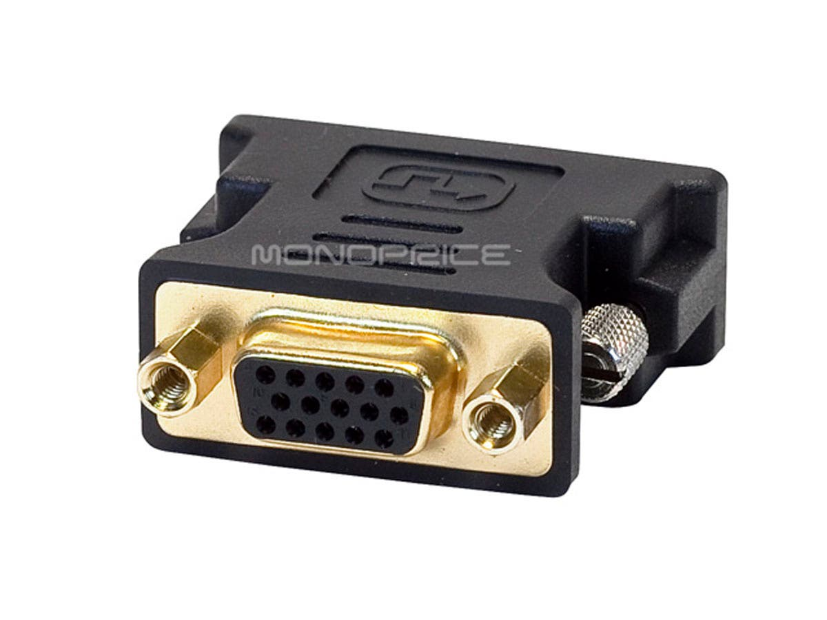 Monoprice Dvi A Dual Link Male To Hd15vga Female Adapter Gold Cheap Vga Hd15 Bnc Cables Also Found This Diagram Of Those