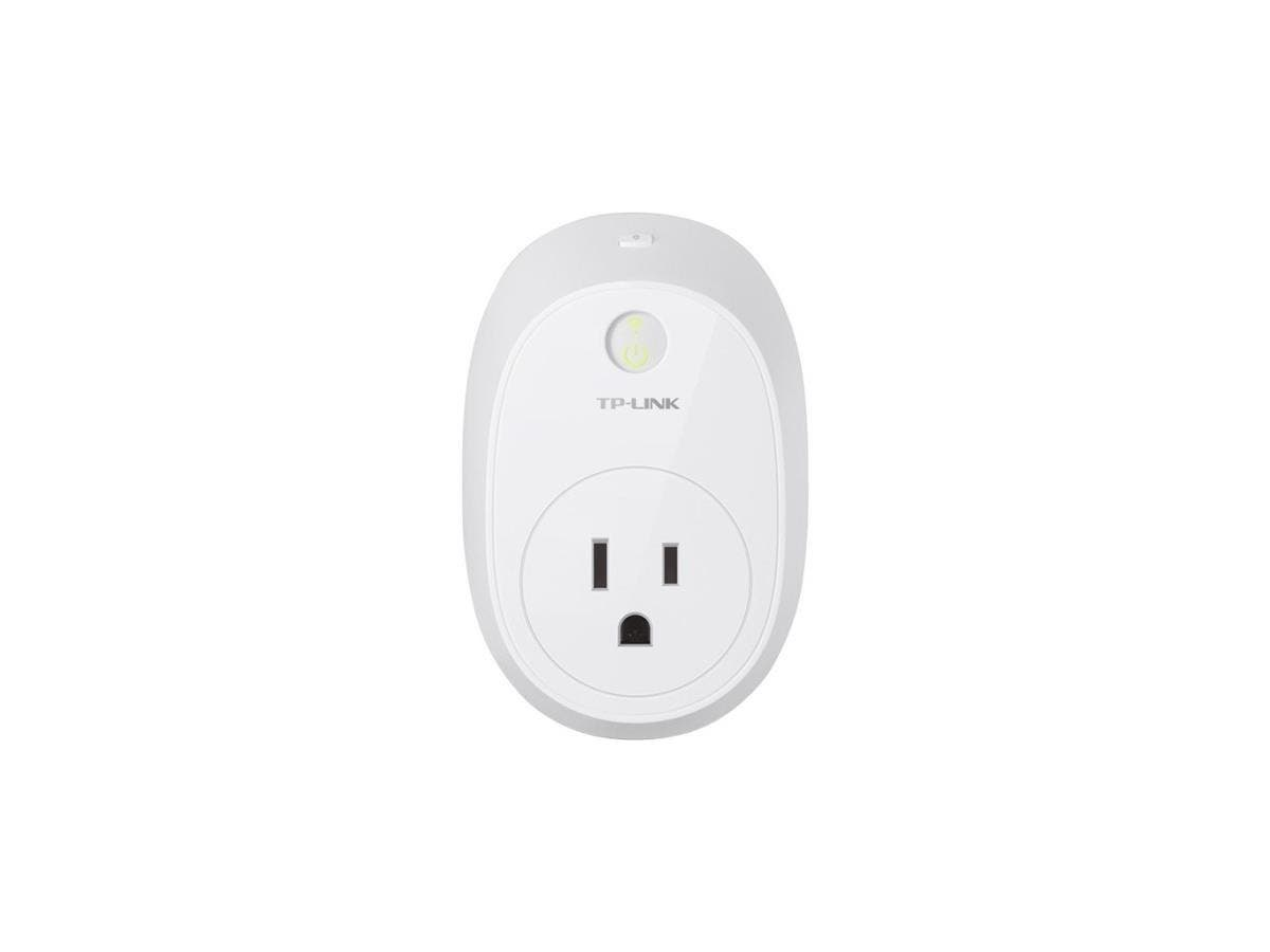 TP-LINK Wi-Fi Smart Plug with Energy Monitoring HS110 - 2P, 2P - 120 V AC / 16 A, 230 V AC-Large-Image-1
