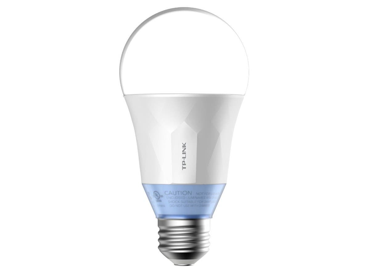 TP-Link Smart LED Light Bulb, Wi-Fi, Dimmable, A19, Tunable White, 60W Equivalent, Works w/ Amazon Alexa & Google Assistant - 1-Pack (LB120)