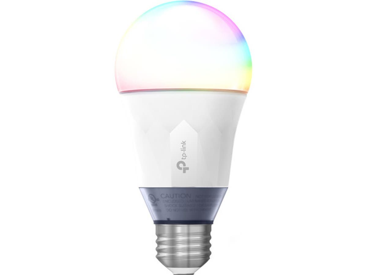 TP-Link Multicolor Smart Wi-Fi LED Bulb - Dimmable - Tunable White - No Hub Required - 60W Equivalent - LB130-Large-Image-1