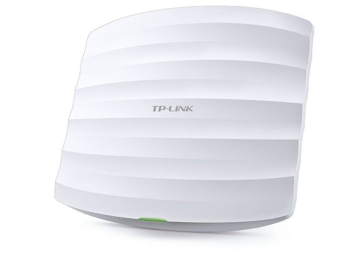 TP-LINK EAP330 IEEE 802.11ac 1.90 Gbit/s Wireless Access Point - 5 GHz, 2.40 GHz - MIMO Technology - Beamforming Technology - 2 x Network (RJ-45) - PoE, AC Adapter - Ceiling Mountable, Wall Mountable