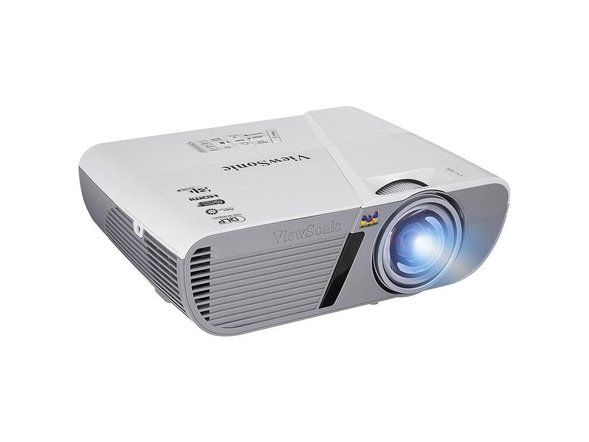 Viewsonic LightStream PJD5353LS 3D Ready DLP Projector - HDTV - 4:3 - Front - 190 W - 5000 Hour Normal Mode - 10000 Hour Economy Mode - 1024 x 768 - XGA - 20,000:1 - 3000 lm - HDMI - USB - 265 W-Large-Image-1