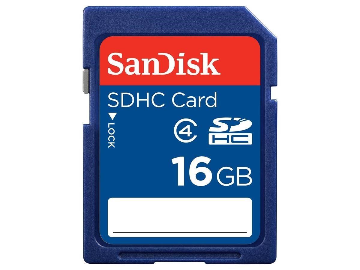 SanDisk SDSDB-016G-B35 16 GB SDHC - Class 4 - 1 Card-Large-Image-1