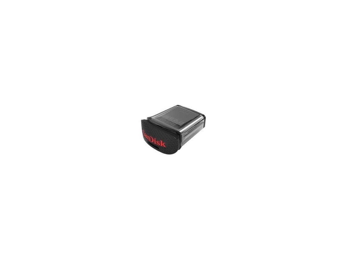 SanDisk Ultra Fit USB 3.0 Flash Drive - 128 GB - USB 3.0 - 128-bit AES-Large-Image-1