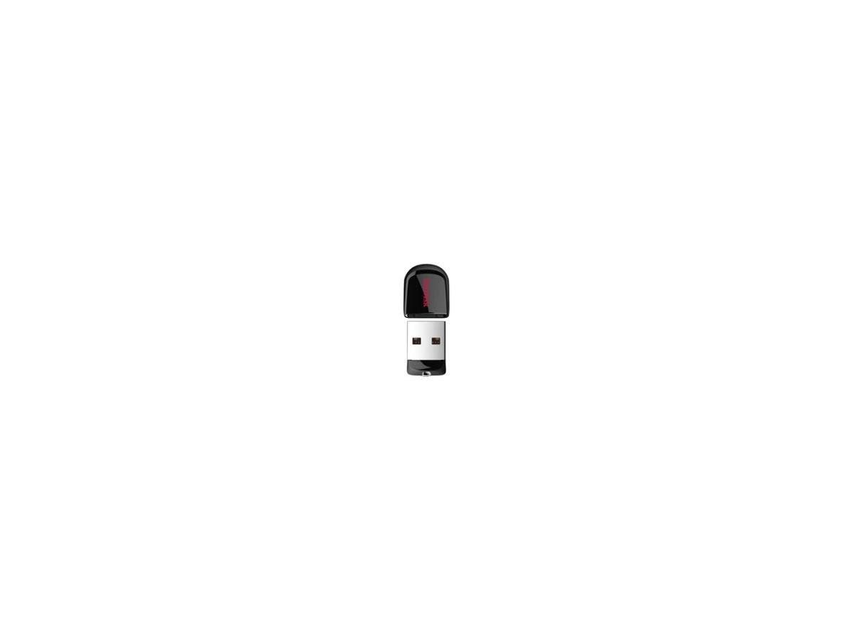 SanDisk Cruzer Fit USB Flash Drive - 64 GB - USB 2.0 - Encryption Support, Password Protection