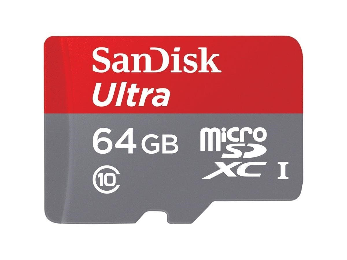 SanDisk Mobile Ultra 64 GB microSDXC - Class 10-Large-Image-1