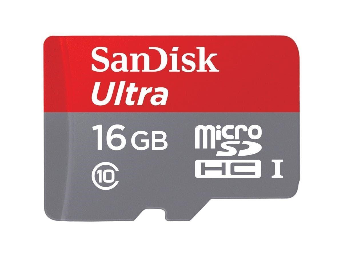 SanDisk Ultra 16 GB microSDHC - Class 10