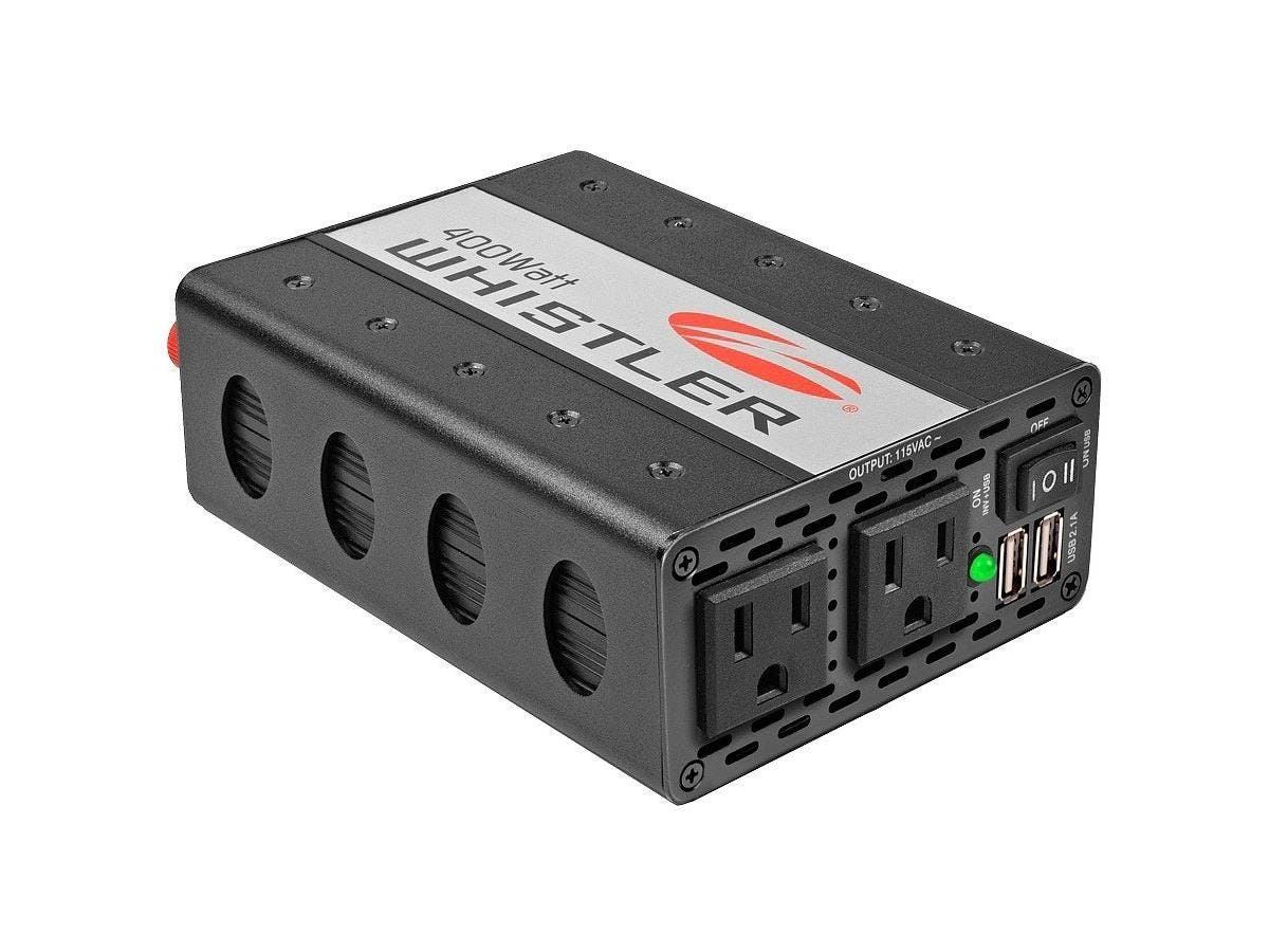 Whistler Power Inverter - Input Voltage: 12 V DC - Output Voltage: 5 V DC - Continuous Power: 400 W-Large-Image-1