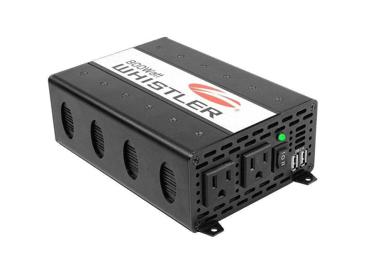 Whistler Power Inverter - Output Voltage: 5 V DC - Continuous Power: 800 W-Large-Image-1