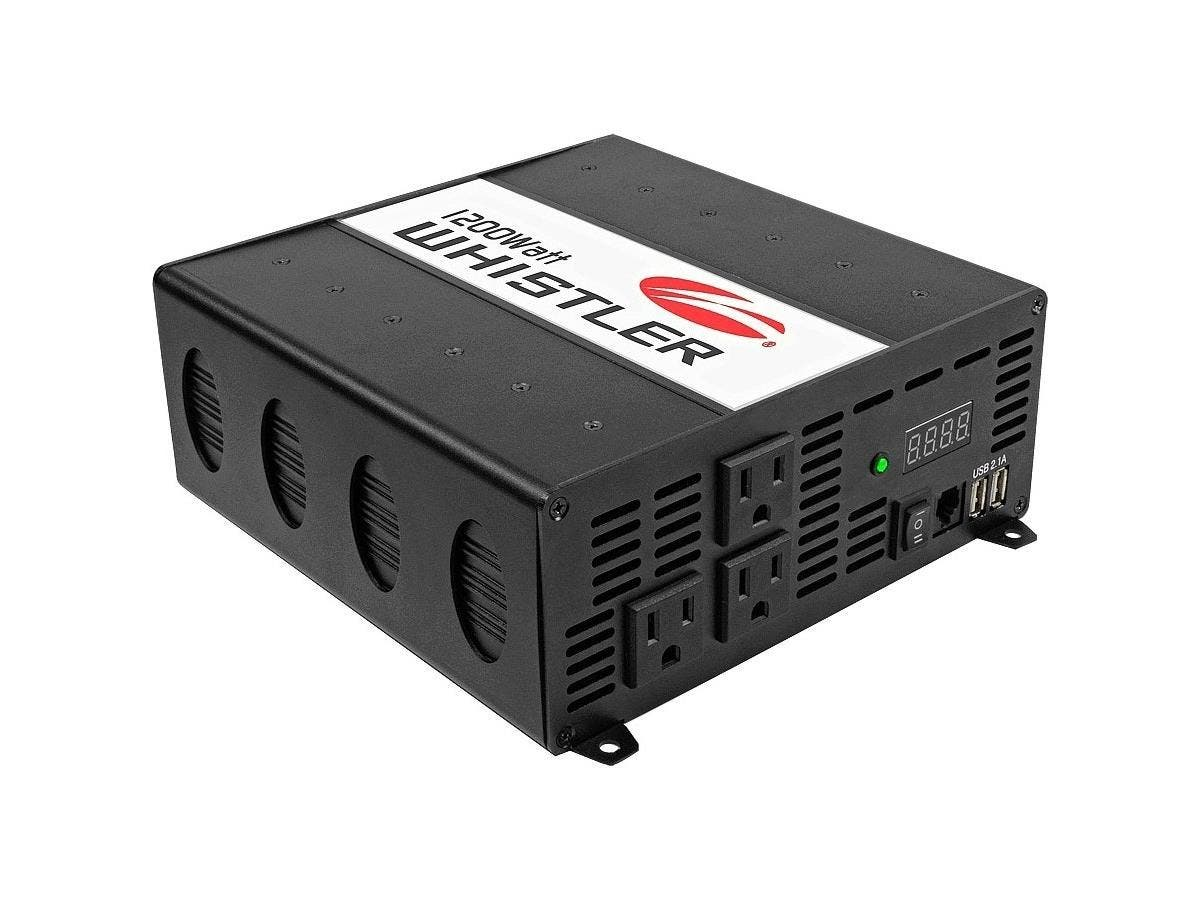 Whistler Power Inverter - Output Voltage: 5 V DC - Continuous Power: 1.20 kW