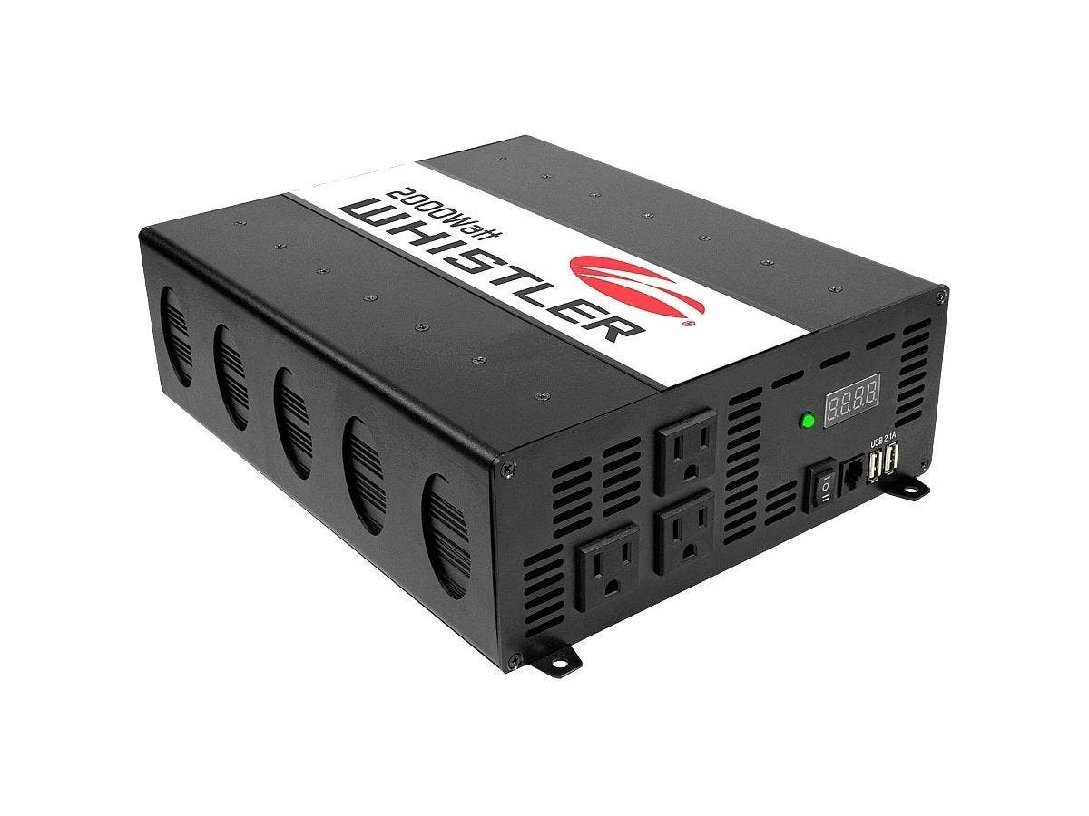 Whistler Power Inverter - Output Voltage: 5 V DC - Continuous Power: 2 kW-Large-Image-1