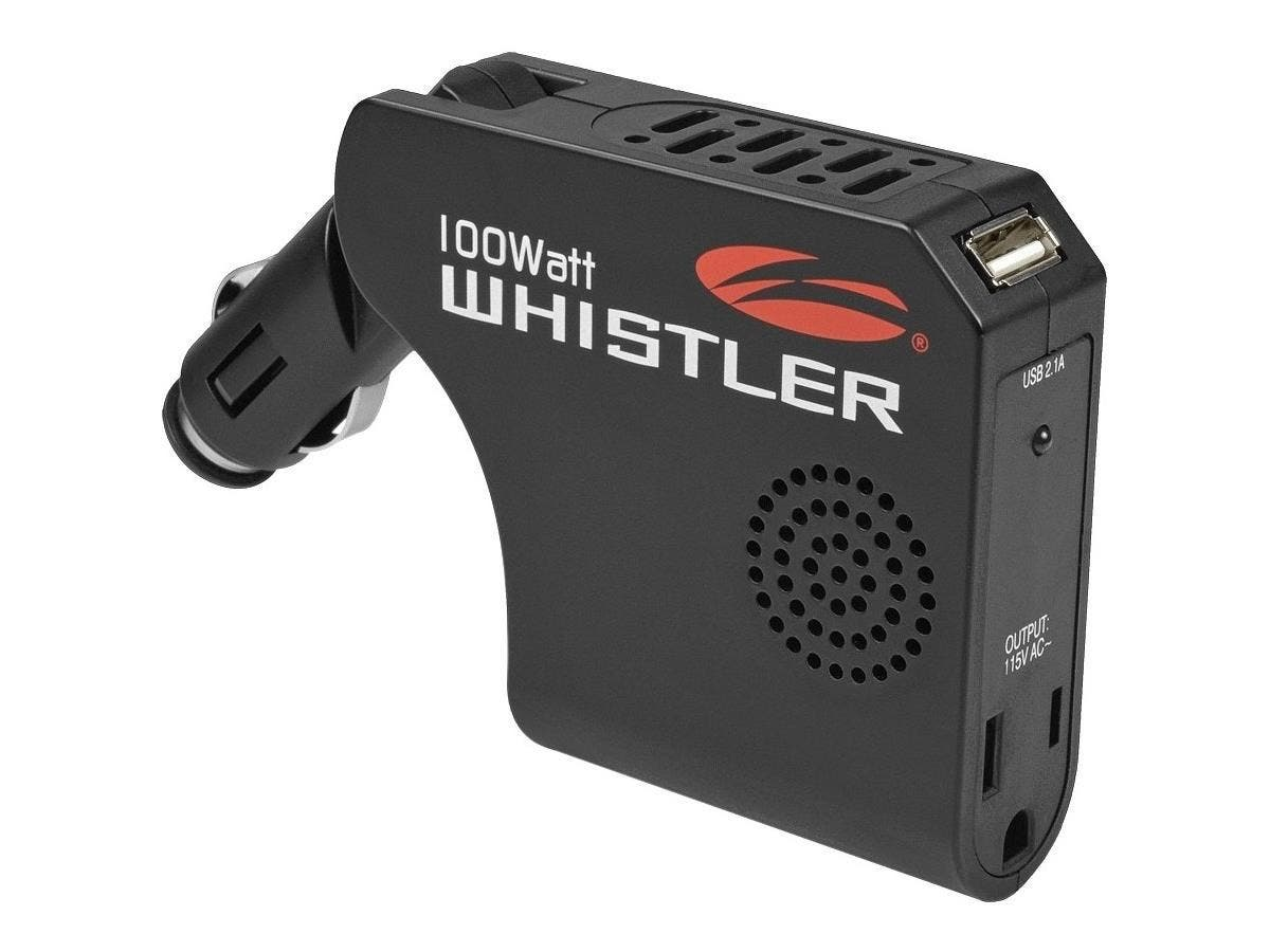 Whistler Power Inverter - Input Voltage: 12 V DC - Output Voltage: 5 V DC - Continuous Power: 100 W-Large-Image-1