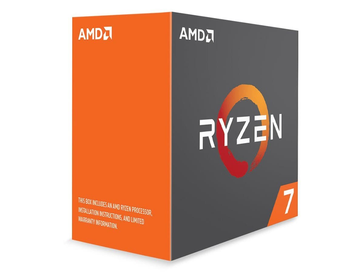 AMD RYZEN 7 1800X 8-Core 3.6 GHz (4.0 GHz Turbo) Socket AM4 95W YD180XBCAEWOF Desktop Processor - main image
