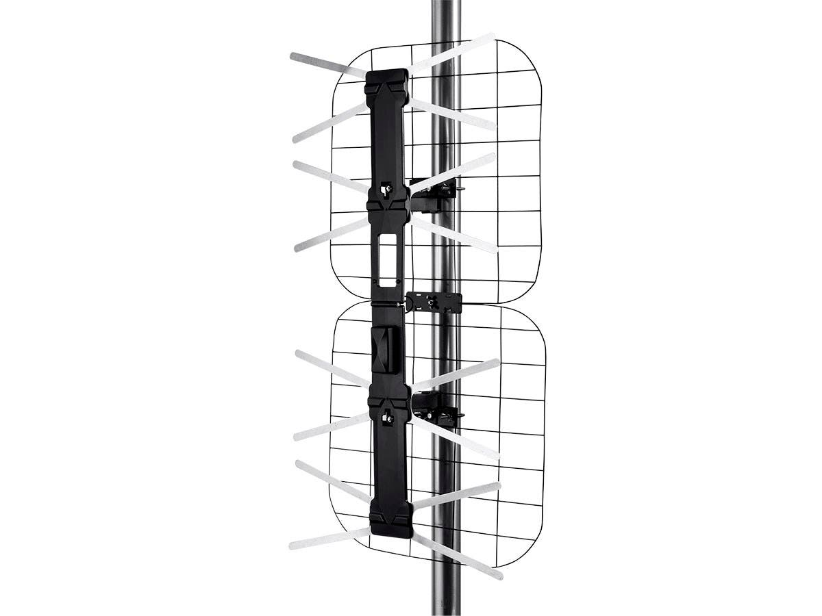 Monoprice Foldable Long Range HD8 Outdoor HDTV Antenna, 80 Mile Range - main image