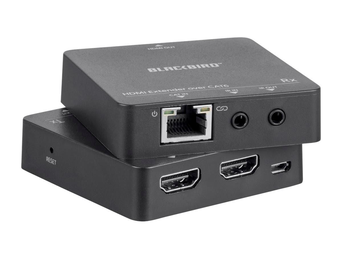 Monoprice Blackbird HDMI Extender, 50m, PoC, IR Kit, Loop ... on