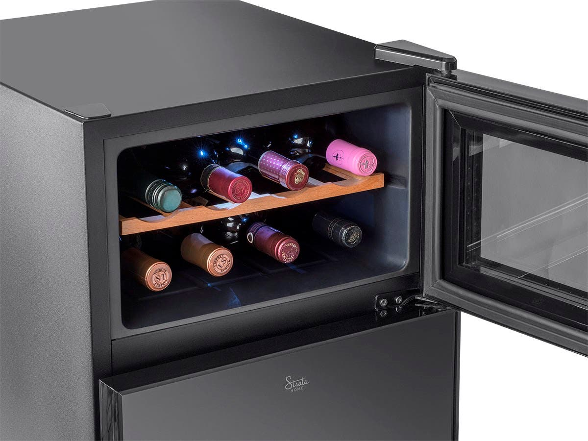 Strata Home By Monoprice 2 In 1 Wine And Beverage Cooler Small