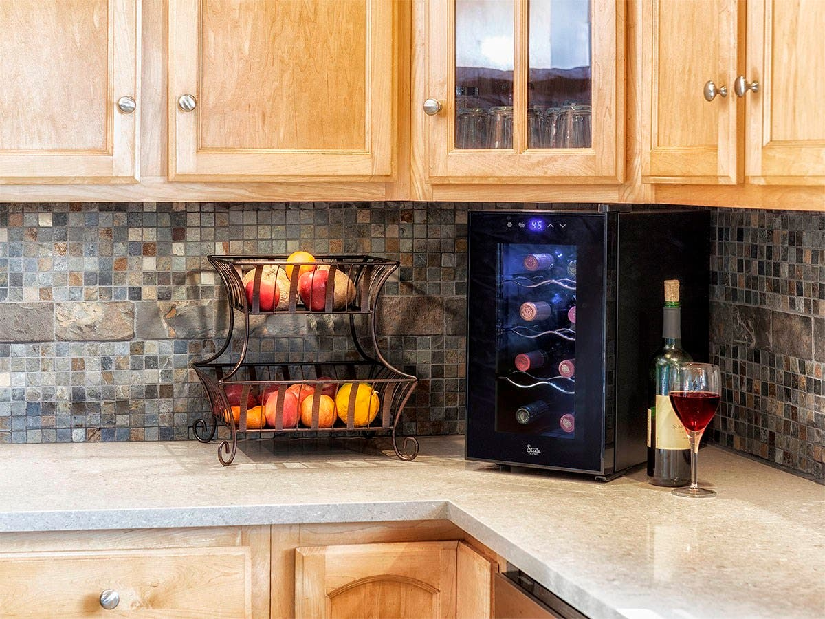 sale wine cooler bottle coolers for in rated countertop best refrigirators whynter top built chillers