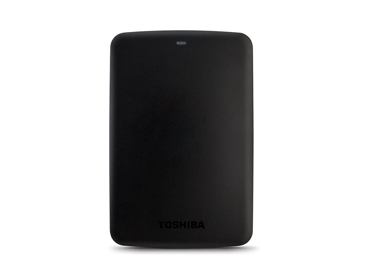 TOSHIBA 1TB Canvio Basics Portable Hard Drive USB 3.0 Model HDTB310XK3AA Black-Large-Image-1