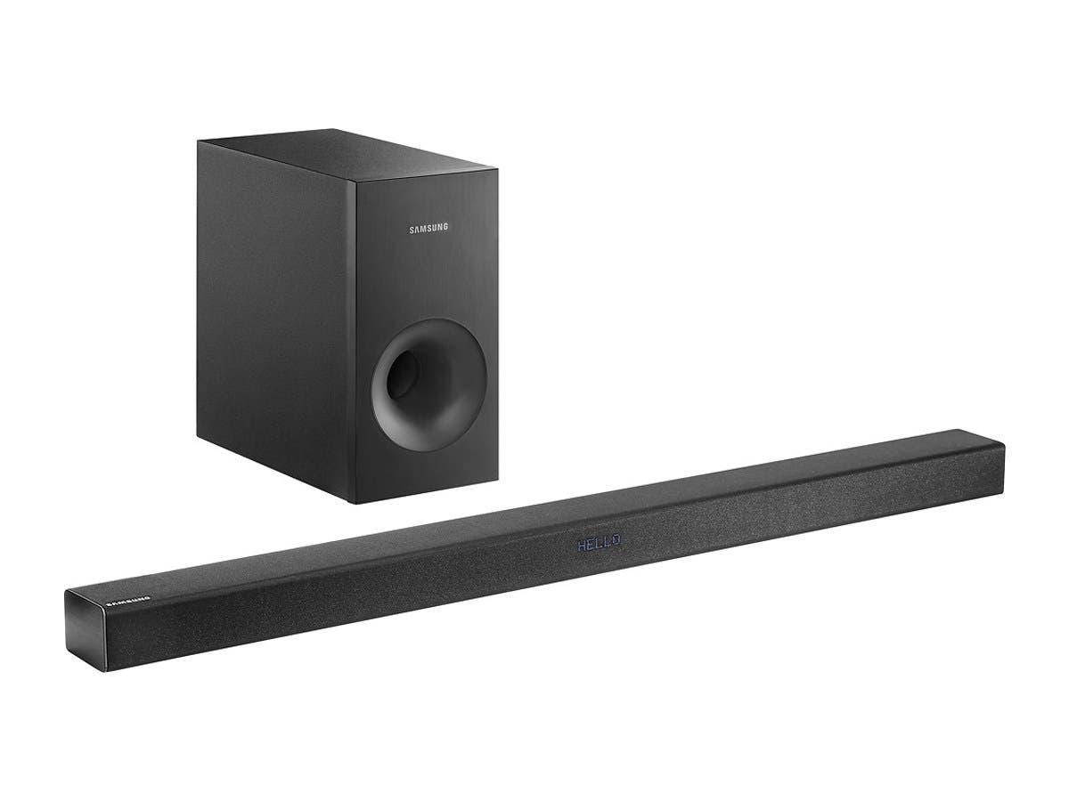 Samsung HW-K360/ZAR 2.1-Channel Soundbar System with Wireless Subwoofer - Black (Recertified)